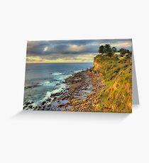 Location Location - Avalon Headland , Sydney - The HDR Experience Greeting Card