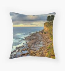 Location Location - Avalon Headland , Sydney - The HDR Experience Throw Pillow