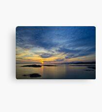 Sanna Bay Sunset Canvas Print