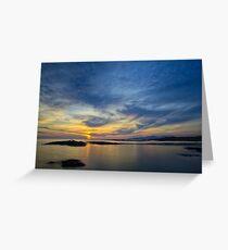 Sanna Bay Sunset Greeting Card