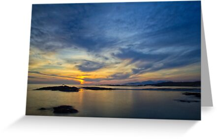 Sanna Bay Sunset by derekbeattie