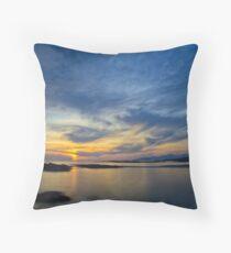 Sanna Bay Sunset Throw Pillow
