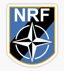 NATO Response Force Sticker