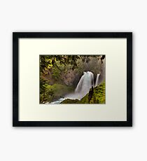 Flowing Beauty Framed Print