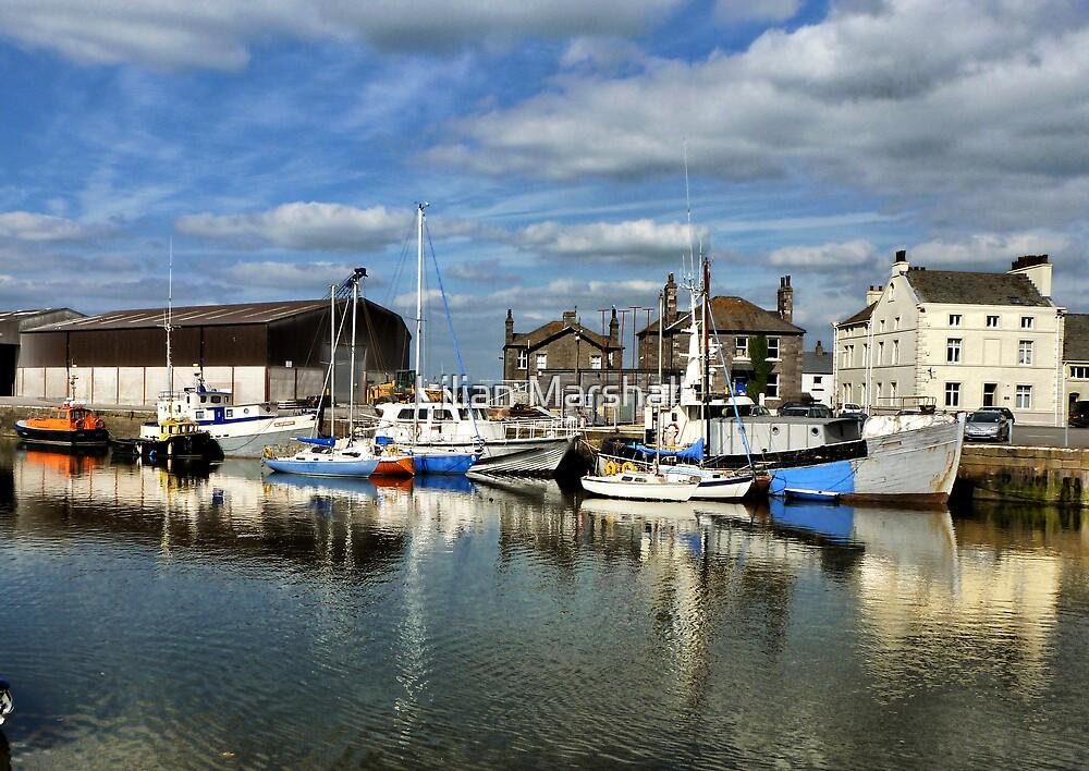 Glasson Dock. by Lilian Marshall