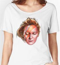 Tilda Swinton - Aladdin Sane Women's Relaxed Fit T-Shirt