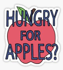 Rick & Morty - Hungry for Apples Sticker
