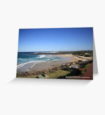 Point Danger Greeting Card
