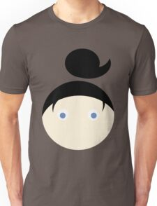 Black Hair Blue Eyed Girl Unisex T-Shirt