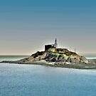 Mumbles Lighthouse, Swansea by Tsitra