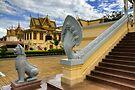 The Snake God Naga, Cambodia by Michael Treloar