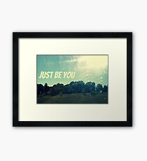 And Nothing More Framed Print
