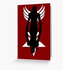 Mass Effect - Shepard Greeting Card