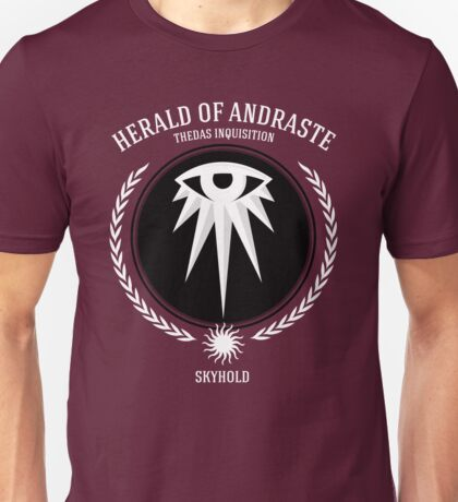 Dragon Age - Herald of Andraste Unisex T-Shirt