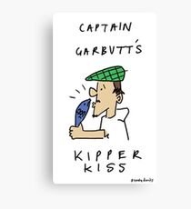 GARBUTT'S KIPPER KISS Canvas Print
