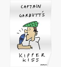GARBUTT'S KIPPER KISS Poster