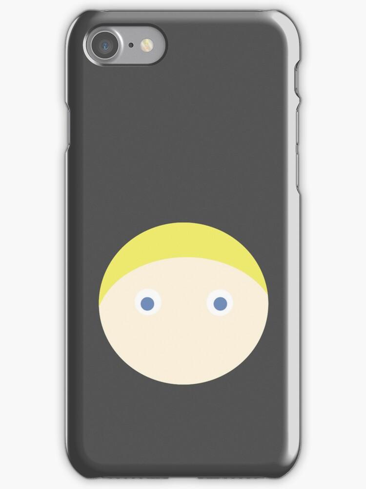 Blonde Hair Blue Eyed Boy by Rjcham