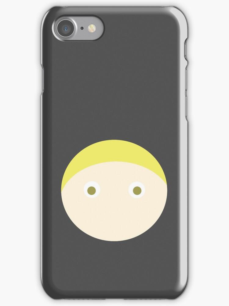 Blonde Hair Hazel Eyed Boy by Rjcham
