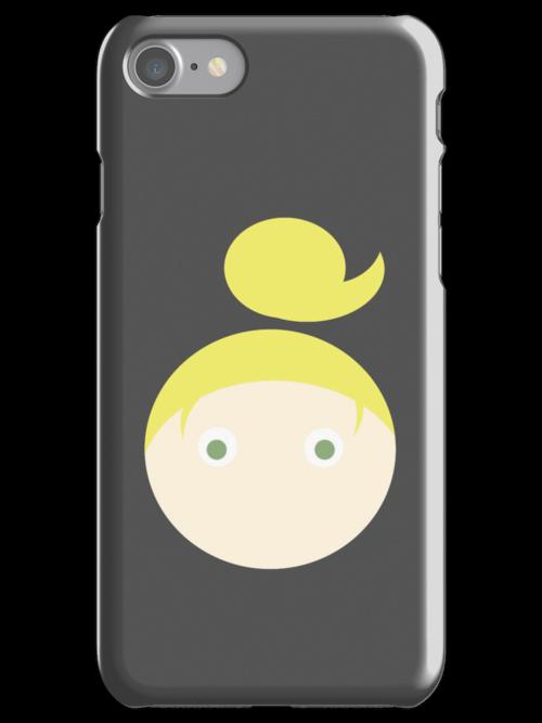 Blonde Hair Green Eyed Girl by Rjcham