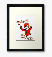 Accio Brain! -Ron Weasley Framed Print