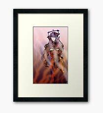 Robot Mercenary Framed Print