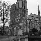 Notre Dame In Winter by minikin