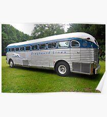 GMC PD 3751 Greyhound Bus (1947) Poster