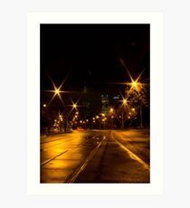 St Kilda Road, Melbourne Art Print