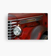 Diamond T Flatbed. Canvas Print