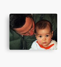 """Me & My Daddy......"" Canvas Print"