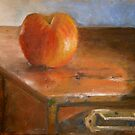 apple on a small chest by Jeremy Wallace