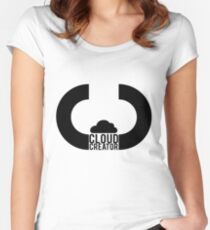 Cloud Creator. Women's Fitted Scoop T-Shirt
