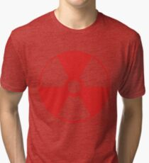 RADIOACTIVE. red. Tri-blend T-Shirt