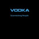 Vodka - Sconnecting People iPhone Black cover by Alessandro Ionni