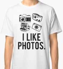 i like photos. Classic T-Shirt