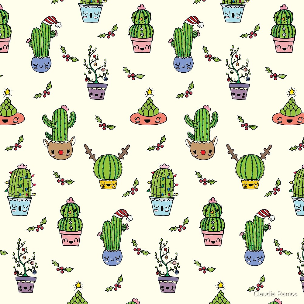 Cute Holiday Succulents!  by Claudia Ramos