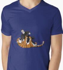 Choke a Tiger Men's V-Neck T-Shirt