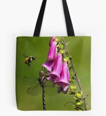 Bee-ware the Dragon Tote Bag