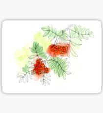 Rowan berry Sticker