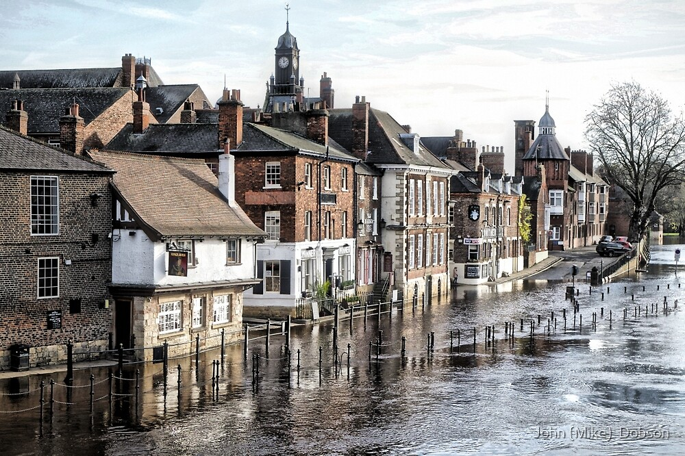 River Ouse in York by John (Mike)  Dobson