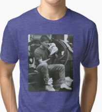 Marty Mcfly Back to the future Tri-blend T-Shirt