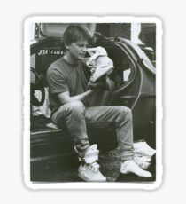 Marty Mcfly Back to the future Sticker