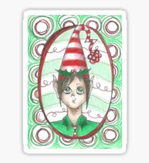 Christmas - Holly and Ivy Sticker