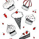 Sweet set by Aleksandra Kabakova