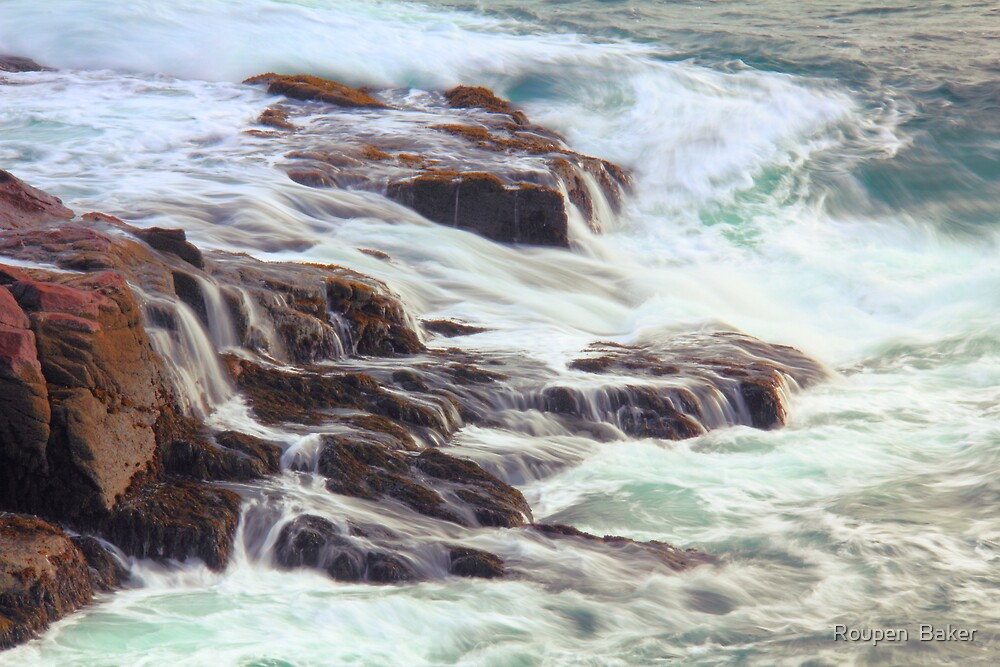 Awash in Atlantic Seas by Roupen  Baker