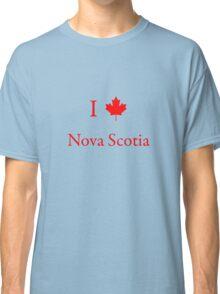 I Love Nova Scotia Classic T-Shirt