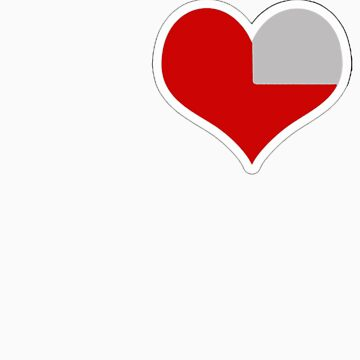 Zelda Heart Piece by sonicfan114