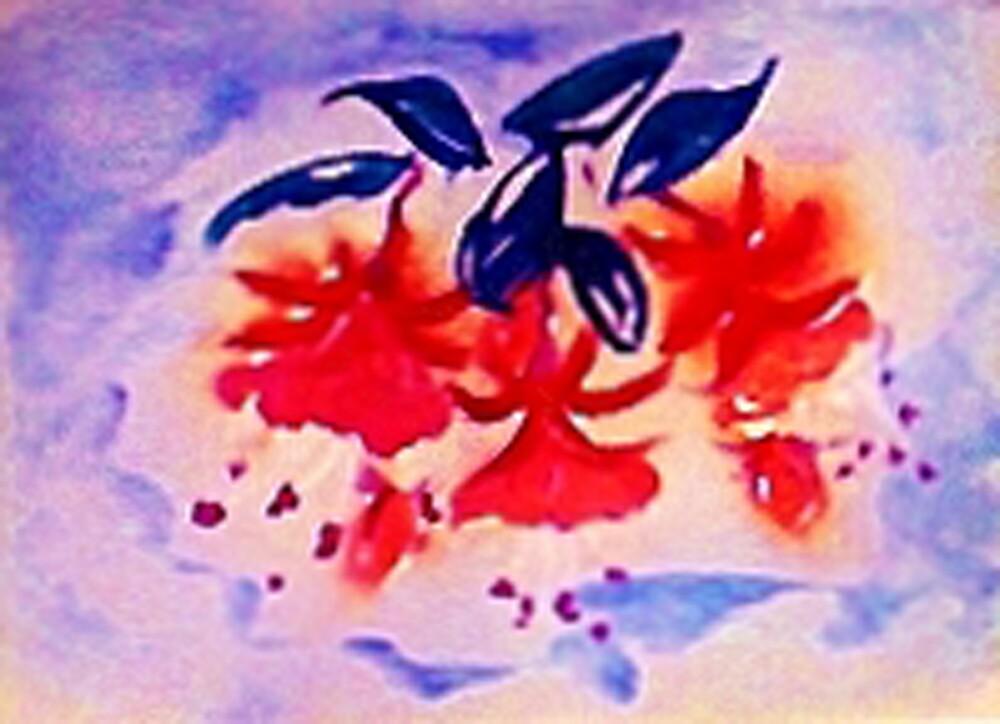 Fushia, the Dancing ballernia by Anna  Lewis, blind artist