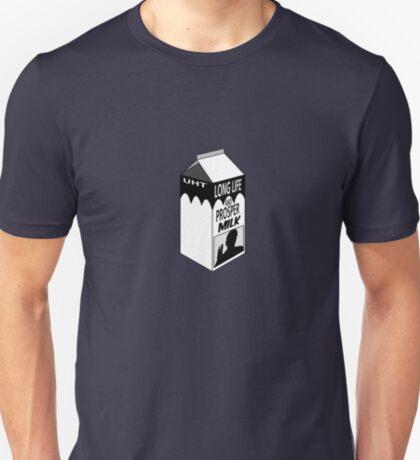 Longlife and Prosper Milk T-Shirt