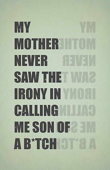 Son of a B*TCH by filiskun
